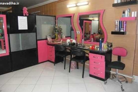 گسترش آرایشگاههای مختلط زیر زمینی / آرایش سیاه بر چهره زنان و مردان ایرانی