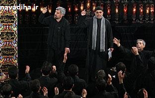 مداحی ای ماه خفته اجرای مشترک حاج صادق آهنگران و حاج نزار قطری ویژه ماه محرم