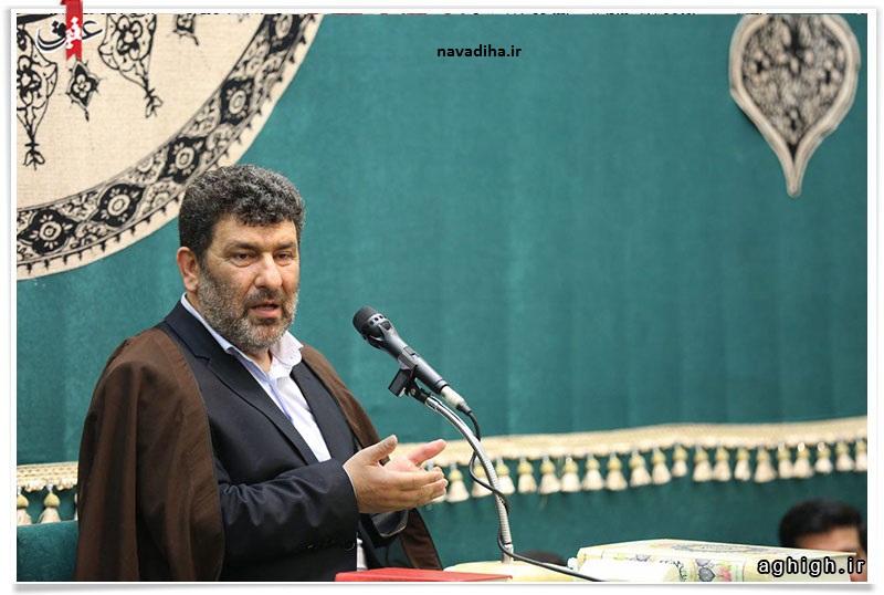 حاج سعید حدادیان در مراسم شب سیزدهم ماه مبارک رمضان: می خواهید با تروریست ها هم مذاکره کنید؟