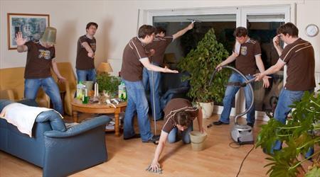 راهکارهایی برای خانه تکانی