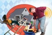 شایعترین خطرهای خانه تکانی