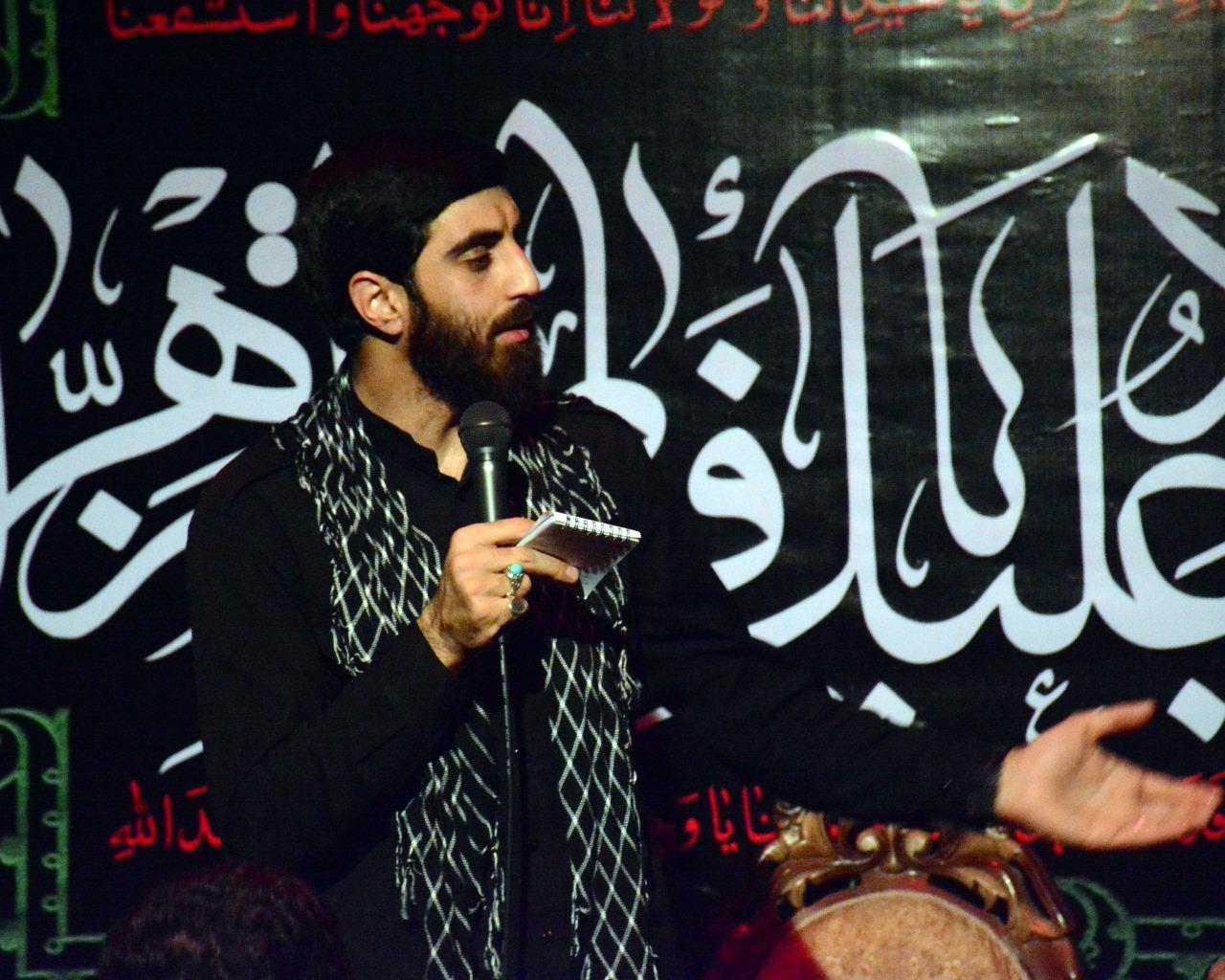 """دانلود مداحی """" دشمن ایران! بدون ما شیعه حیدریم """"سید رضا نریمانی"""""""