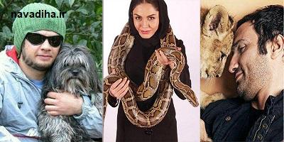 از گربهی هانیه توسلی تا سگ اکبر عبدی!
