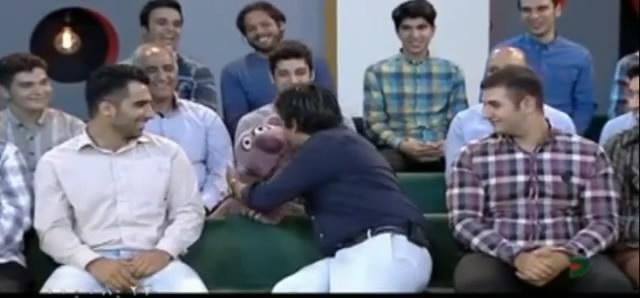 کلیپ شوخی جناب خان با حمید گودرزی در برتامه ی خندوانه