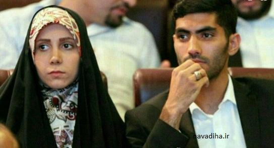 همسر چادری بازیکن پرسپولیس +عکس