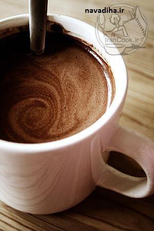 آموزش درست کردن هات چاکلت ( شکلات داغ )