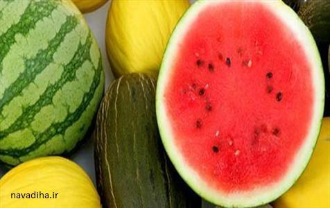 کلیپ هندوانه شب یلدا به صورت سبد میوه