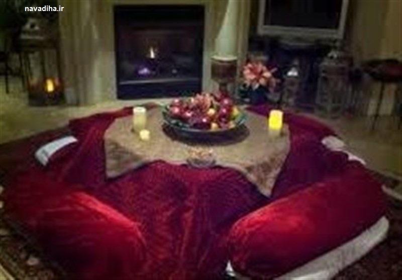 لذت گرمای کرسی و خواص درمانی آن در زمستان