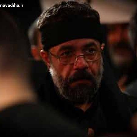 روضه خوانی حاج محمود کریمی در حضور رهبرانقلاب
