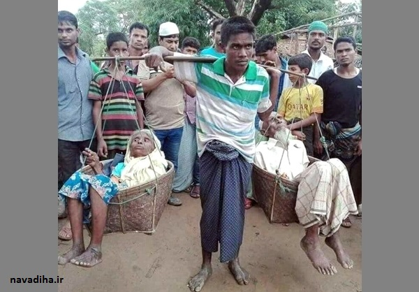 یک عکس خاص از فاجعه میانمار که دل عکاس را تکان داد!