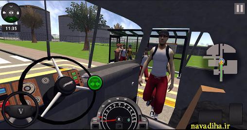 بازی City bus simulator 2016 شبیه ساز اتوبوس ۲۰۱۶ اندروید