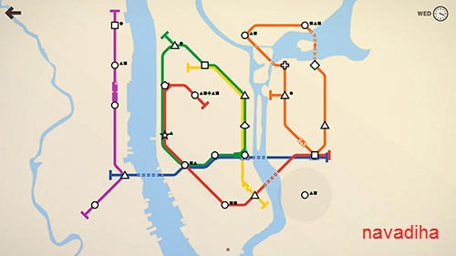 دانلود بازی mini metro شبیه ساز مترو