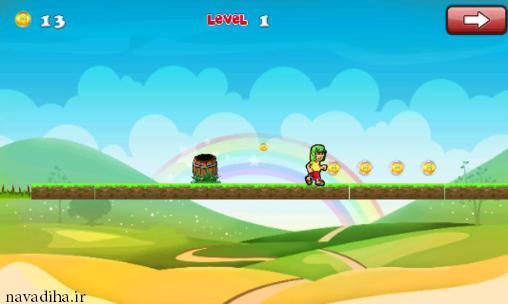دانلود بازی  Super Chavis land  جلورفتنی باحال اندروید!