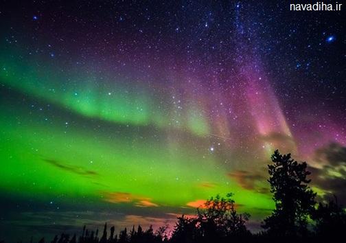 جدیدترین عکس های شفق قطبی