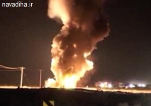 کلیپ انفجار وحشتناک دو تانکر مواد سوختنی