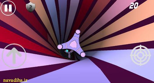 دانلود بازی space speed سرعت فضایی جالب و جدید اندروید