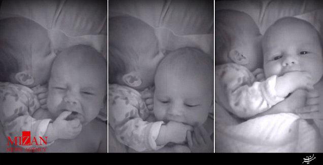 عکس جالب از نوزاد یک ماهه که یک میلیون لایک گرفت