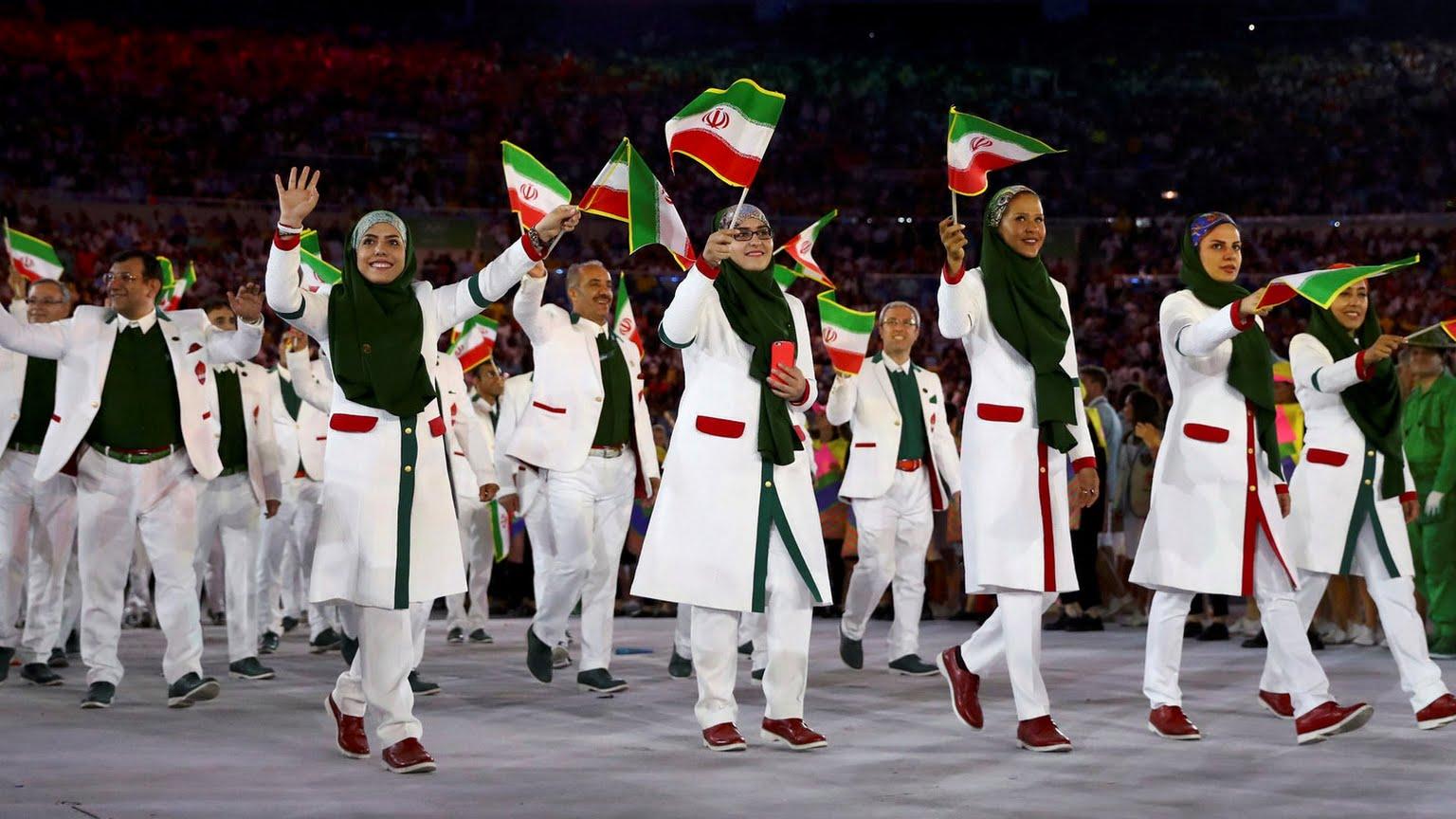 فیلم رژه کامل کاروان امام رضا (ع) در المپیک ۲۰۱۶ ریو