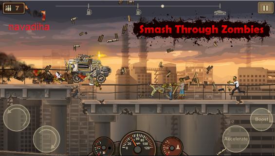 دانلود بازی Earn to Die 2-کشتن زامبی ها با ماشین