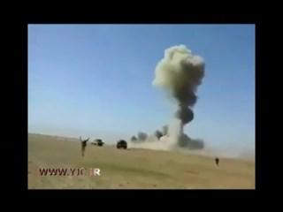 منفجر کردن خودروی انتحاری داعشی ها در عراق