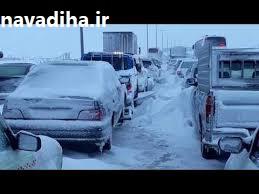 کلیپ مدیریت بحران به سبک نجفی!!  ماشینهای برف روب منطقه۳ شهرداری تهران همه در پارکینگ هستند!!