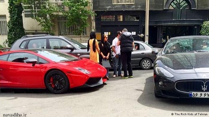 مصاحبه با بچه پولدارها با ماشینهای گران قیمت