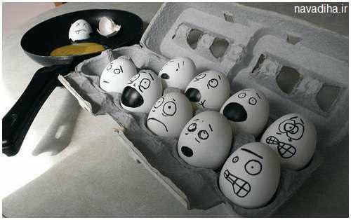 کلیپ آموزش سبزه انداختن در پوست تخم مرغ