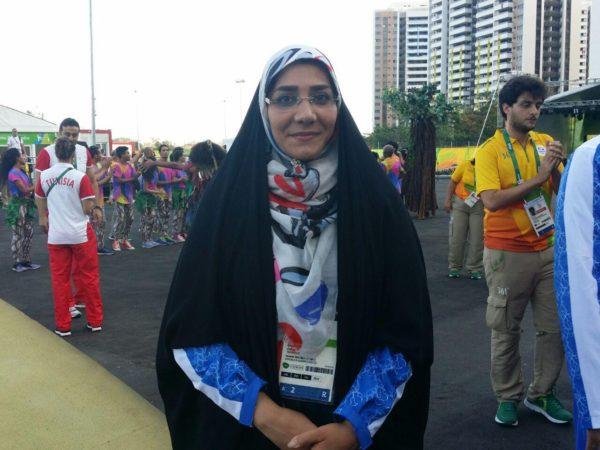 خوشحال هستم که با چادر در المپیک حاضر شدم