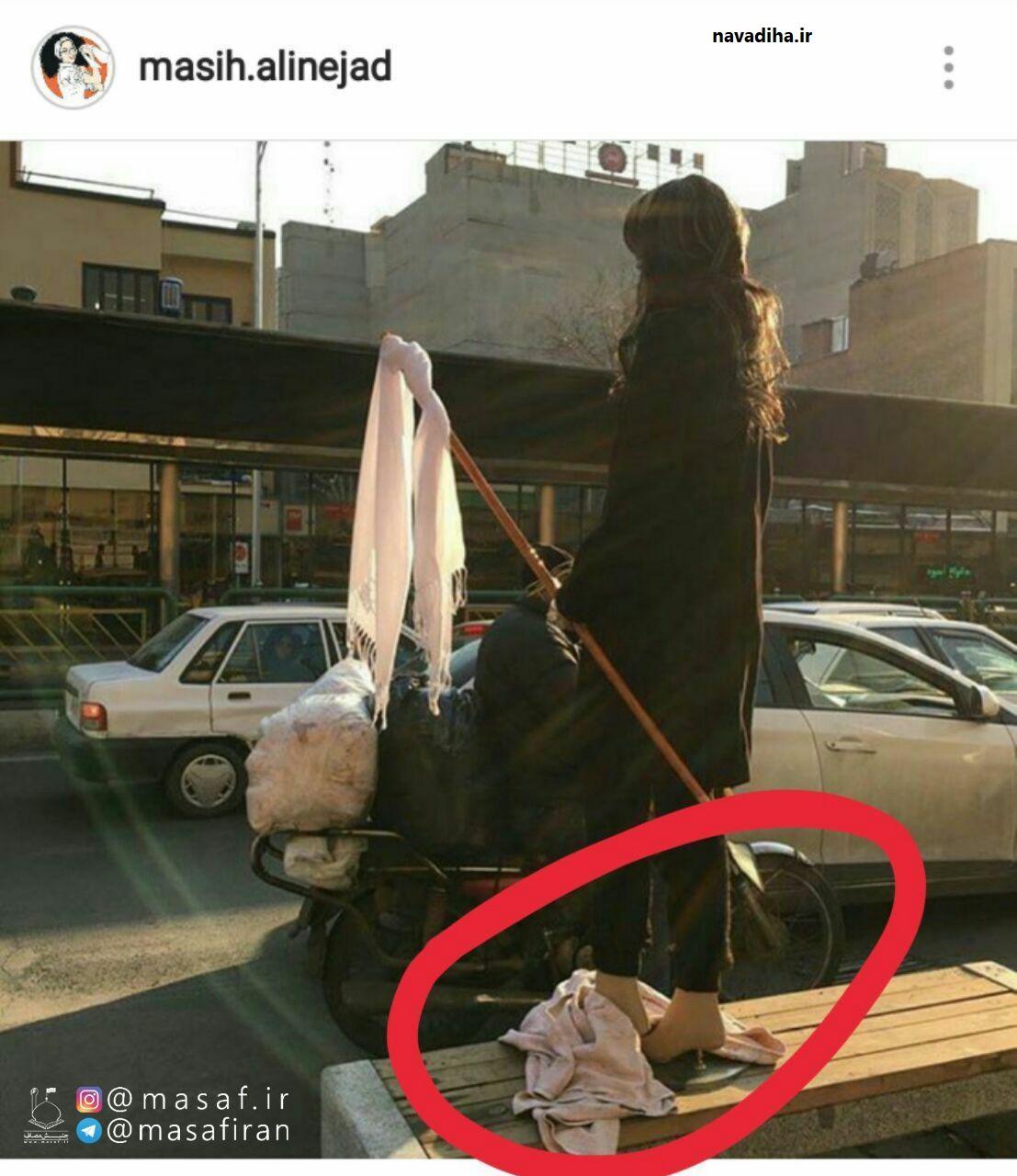 دو کلیپ بسیار زیبا تقدیم مصی علینژاد!/از خیابان تا ساحل دریا!