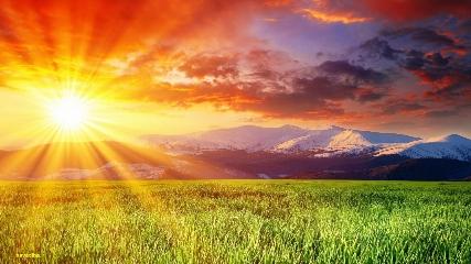 دانلود تصاویر والپیپر طلوع و غروب خورشید ۱ – HD